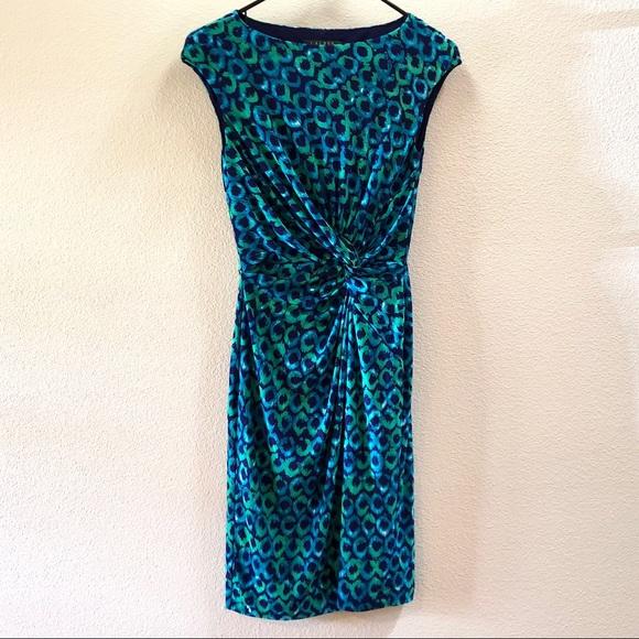 Lauren Ralph Lauren Dresses & Skirts - 🚚 EUC LAUREN RALPH LAUREN Peacock Pattern Dress